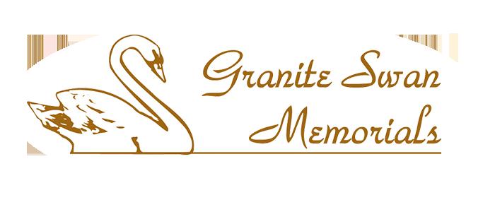 granite swan memorials logo